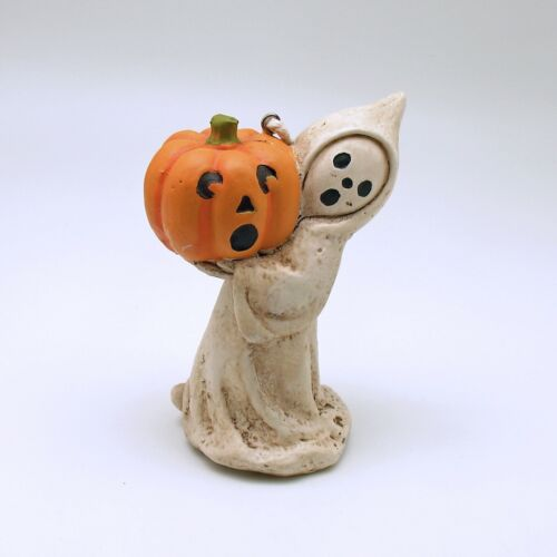 Halloween Decoration Ghost with Pumpkin Bethany Lowe