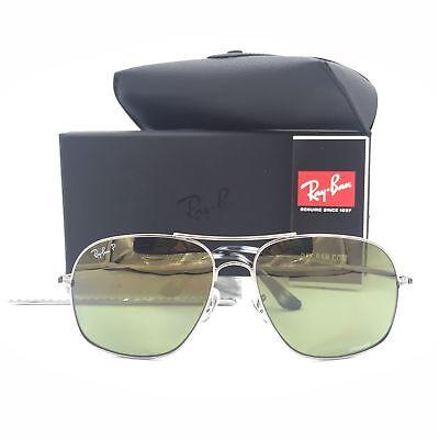 af7f0e05b38 Ray-Ban RB3587-CH 029 6O Chromance Sunglasses W  Green Polarized Lens 61mm