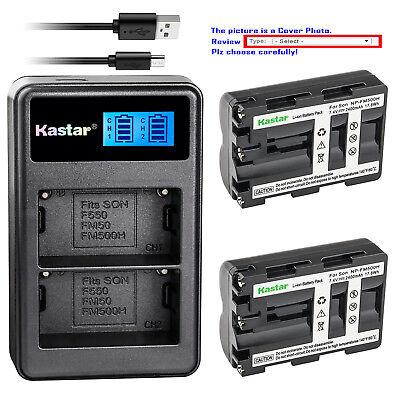 - Kastar NP-FM500H Battery Charger Sony a200 a300 a350 a700 Alpha a58 Alpha a99