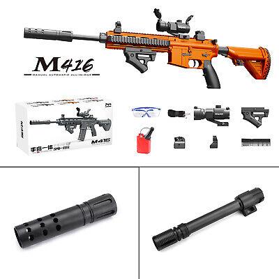 Toy Gun Weapon M416 Automatic & Manual Gun Kids Water Bullets Guns Blaster CS OG Toy Guns For Kids