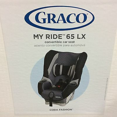 Brand New* Graco My Ride 65 LX convertible car seat, Coda Fashion