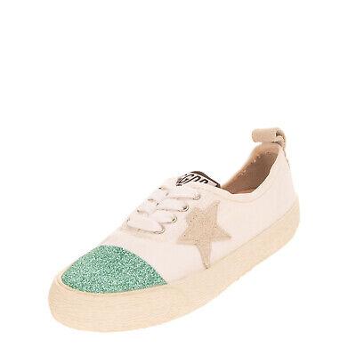 RRP €200 GOLDEN GOOSE DELUXE BRAND CALIFORNIA Canvas Sneakers EU 31 UK 12 US 13