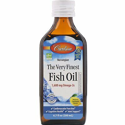 Carlson Laboratories - The Very Finest Fish Oil/Lemon, 1600