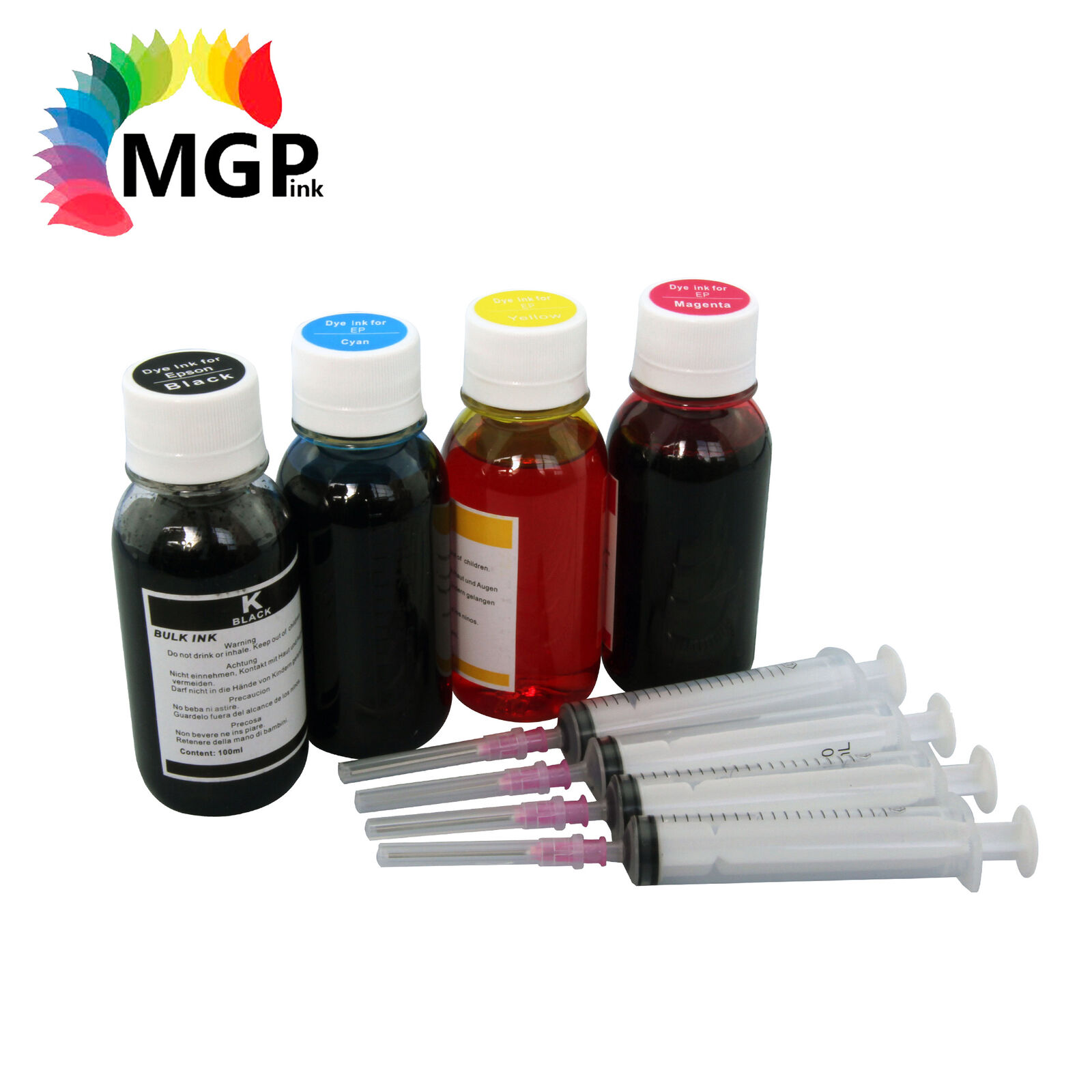4x100ml Refill Ink For Epson 288XL For Expression Home