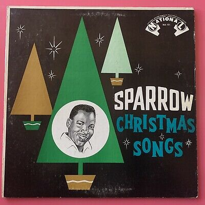 Mighty Sparrow ‎– Sparrow Christmas Songs LP Vinyl Reggae Folk World Calypso NM ()