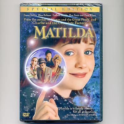 Matilda 1996 Pg Family Comedy Childrens Fantasy Movie  New Dvd Danny Devito