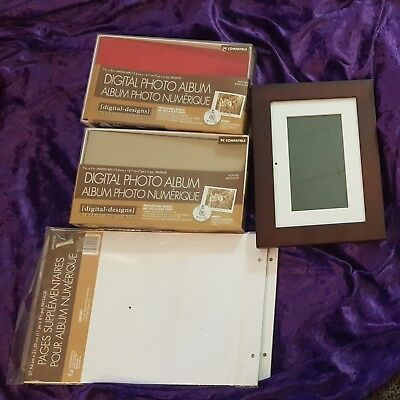 Digital Scrapbooking Frames (DIGITAL PHOTO ALBUM LOT by Digital Designs  4 Photography + REFILL PAGES + FRAME)