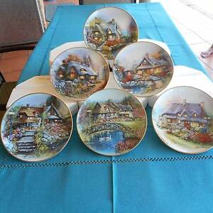Franklin Mint Heirloom Collector Plates Mount Pleasant Mackay City Preview