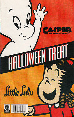 CASPER THE FRIENDLY GHOST AND LITTLE LULU HALLOWEEN SPECIAL  MINI COMIC 2009
