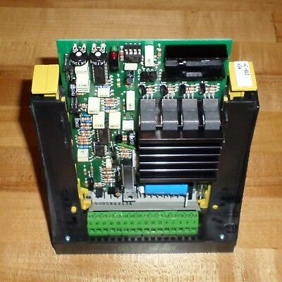 Berger Lahr Brushless Dc Motor Controller 57059 Bge2406 W Murr Holder 63001
