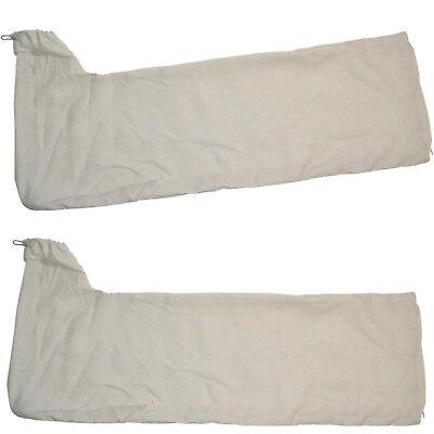 2-pack Pack Staubsammler Tasche für Dewalt DW744 DW744X DW745 DWE7480 DWE7491RS