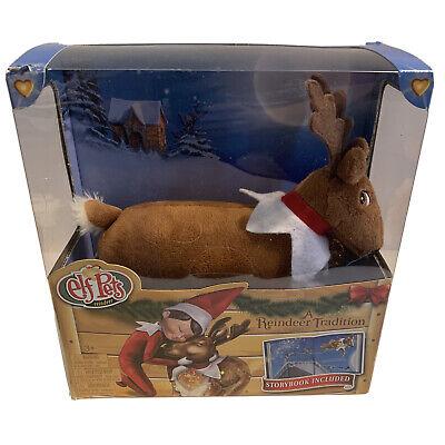 NIOB Elf on the Shelf Pets Christmas Reindeer Plush Figure & Hardcover Book Set