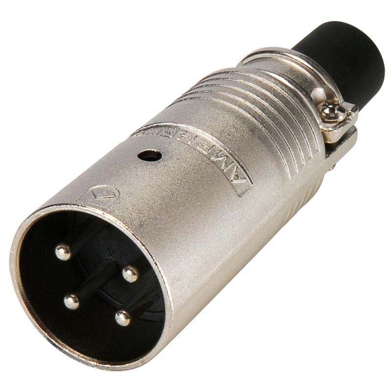 Amphenol EP-4-12 4-Pole EP Male Cable Connector