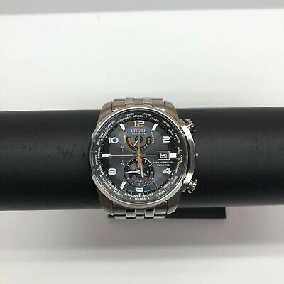 Citizen Eco Drive Men's Radio Controlled World Time Watch Model H820-S087104