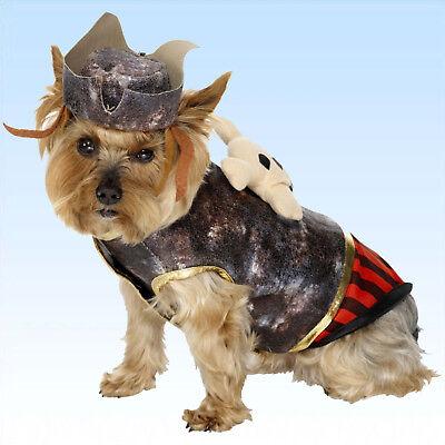 Hundekostüm Pirat Faschingskostüm Kostüm für Hunde Hundebekleidung Tierkostüm ()