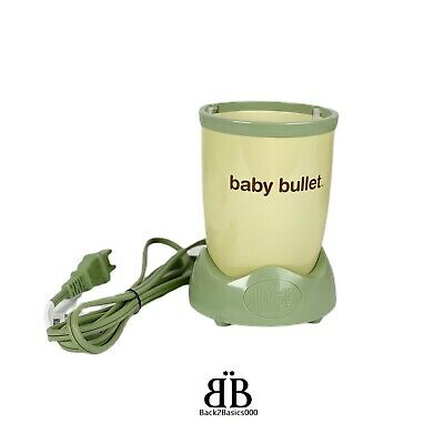 Bullet Baby Bullet BB101S Food Blender Replacement Power Base Motor Only WORKS