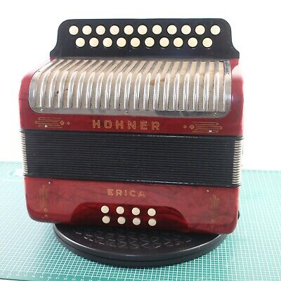 HOHNER Erica Button Accordion in CF, made in Germany (20280)