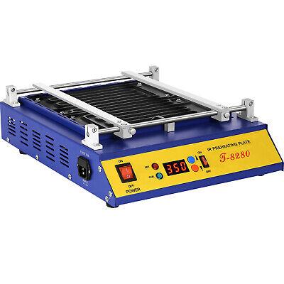 T-8280 Ir Pcb Infrared Preheater Bga Rework Preheating Station 1600w 280x270mm