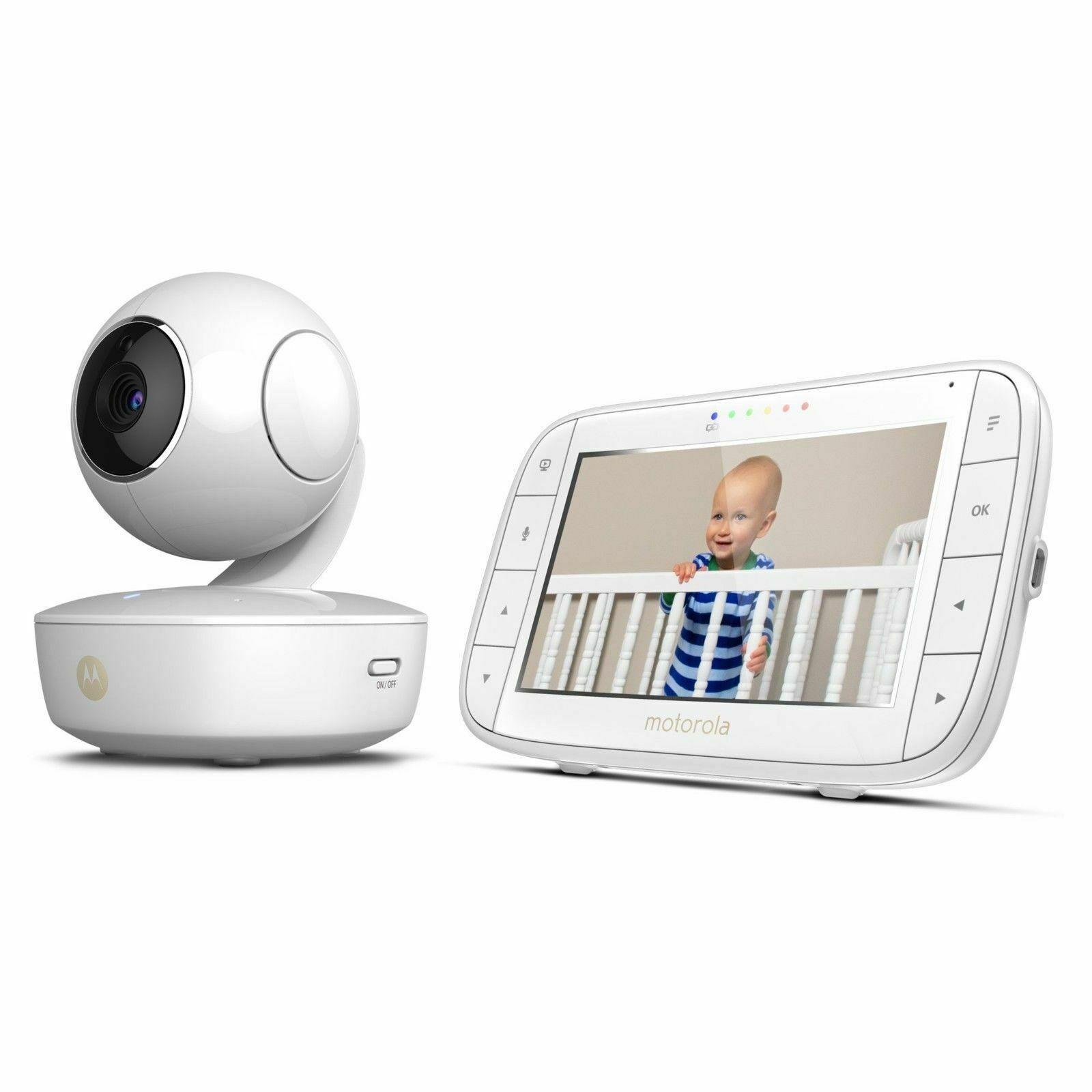 "Motorola MBP36XL Video Baby Monitor Pan/Tilt/Zoom 5"" Color"