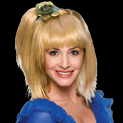 70's Prom Girl Wig - 70's Prom Girl wig retro theatrical costume women mannequin blonde TV celebrity