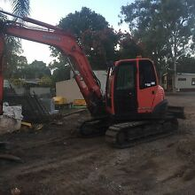 KX 80 kubota excavator and attachments for sale Kingston Logan Area Preview