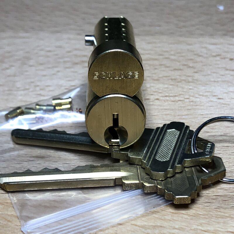 SCHLAGE LFIC (C Keyway) w/ Operating & Control Keys + Security Pins - Locksport