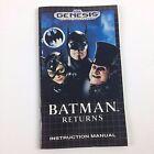 Sega Genesis Batman Returns Video Games
