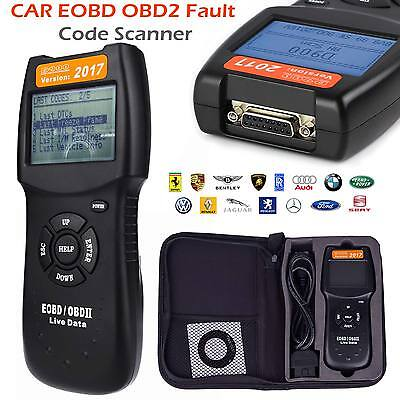 2017 Universal Car Fault D900 Code Reader OBD2 EOBD CAN Diagnostic Scanner Tool