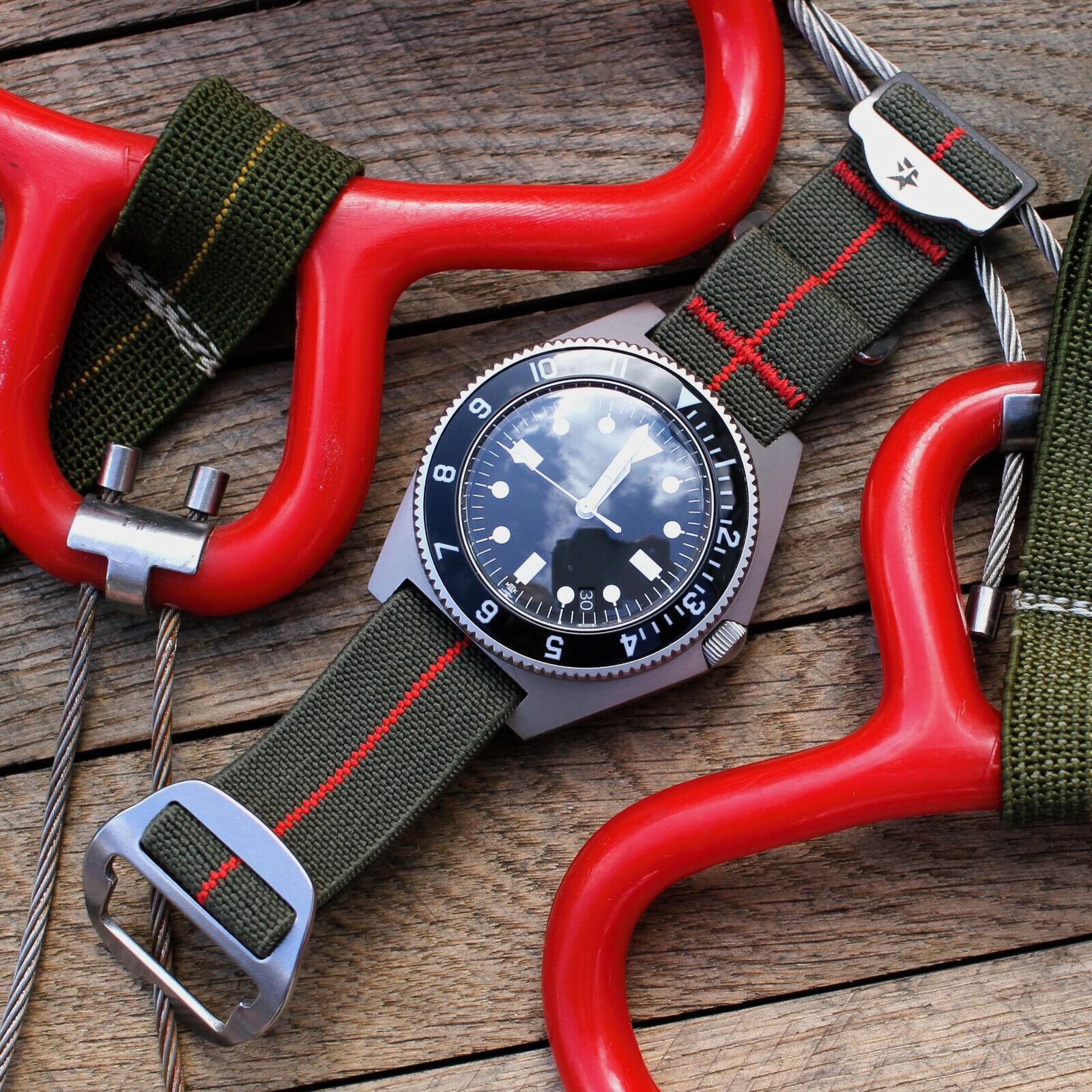 Riggerband Watch Strap, Marine Nationale, NASA, NATO, ZULU,