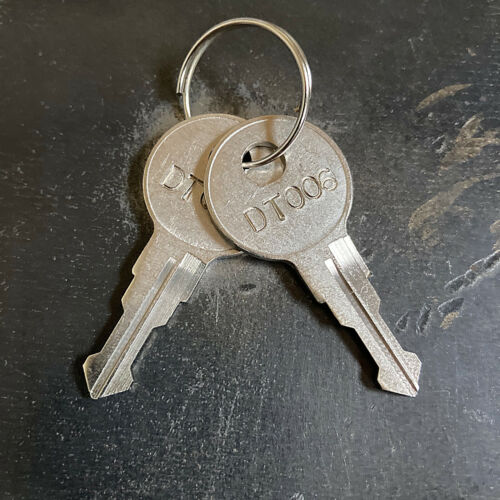 (2) Leer Truck Cap Topper / Camper Replacement Keys from Key Code DT001 - DT020
