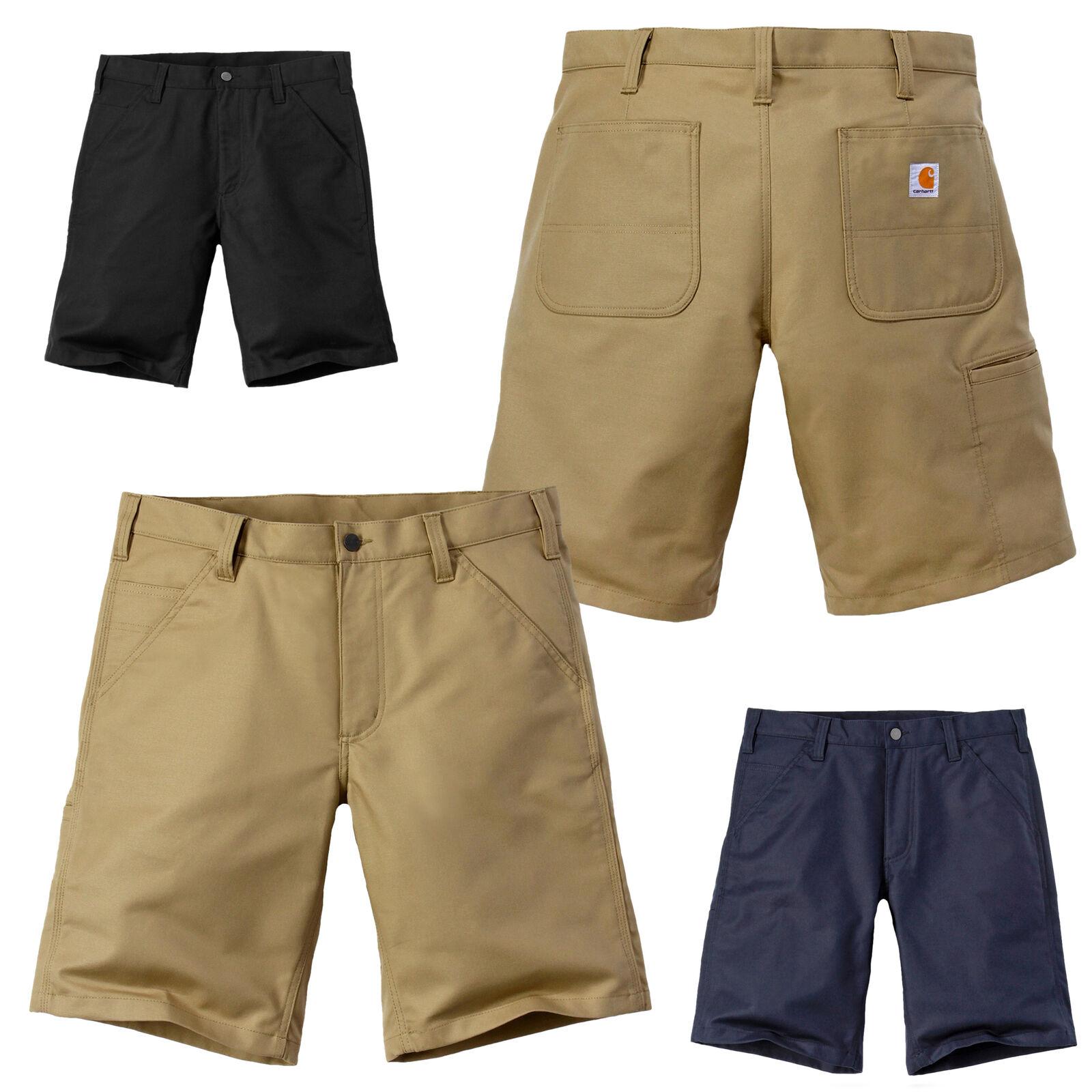 f1cc921e69a18 Carhartt Herren Shorts Rugged Stretch Canvas Kurze Hose Cargo Pant / W28  bis W42*