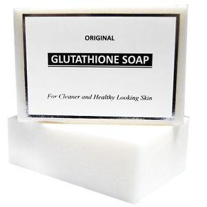 Pure glutathione gluta skin whitening soap lightening bleaching anti