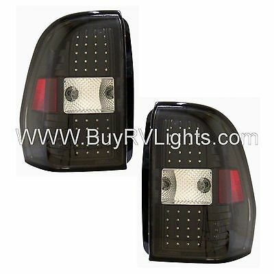 NEWMAR ESSEX 2007 2008 2009 PAIR LED BLACK TAIL LAMPS TAILLIGHTS REAR RV