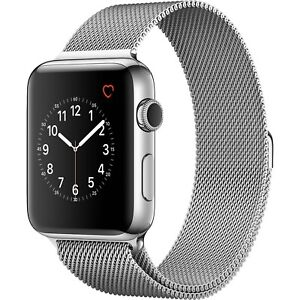 Apple watch series 1 stainless steal ceramic 42 mm mint