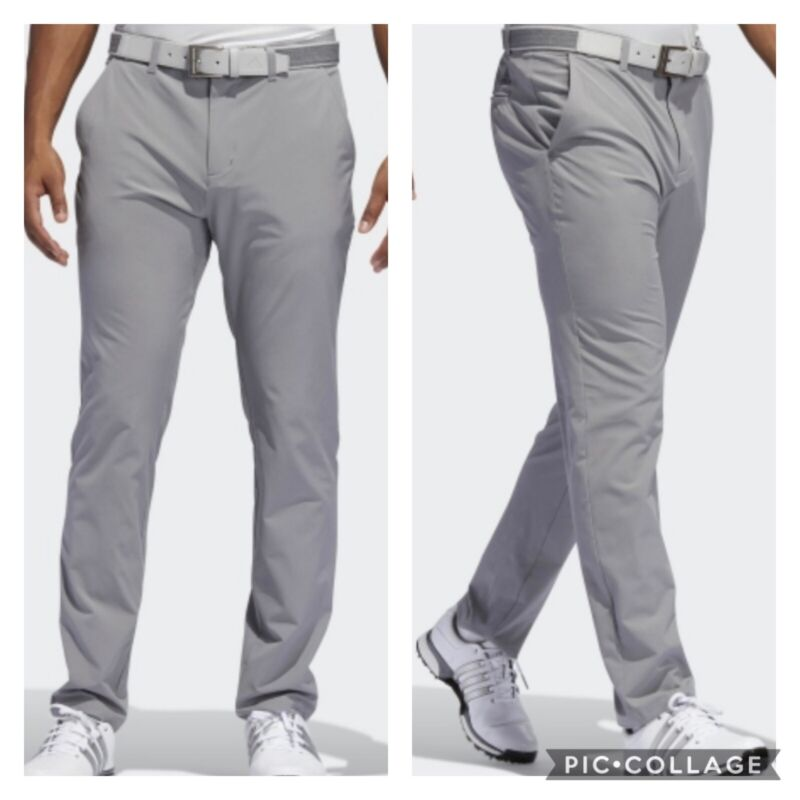 NEW! Adidas Ultimate365 Tapered Golf Pants - Gray - Pick Size