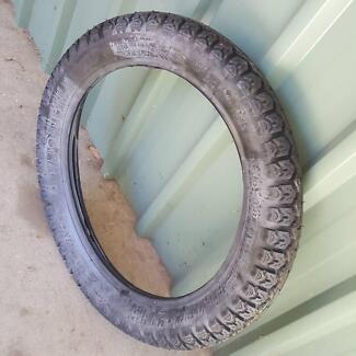 Tyre motor cycle 3.50 x 18 Vintage