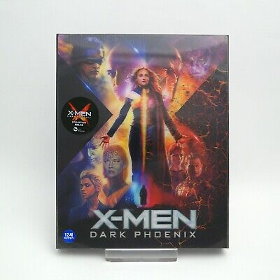 X-Men: Dark Phoenix - 4K UHD + Blu-ray Steelbook Lenticular Edition (2019)  WeET