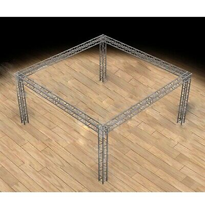 Global Truss 20x20 Trade Show Booth - Modular F34 Box Truss With Ujb Corners