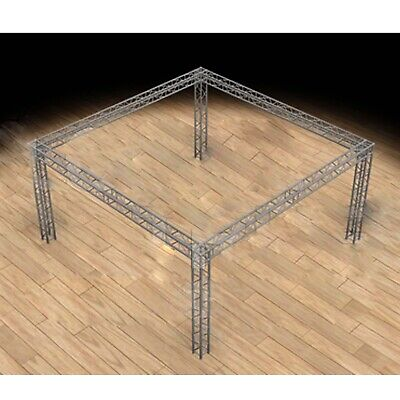 Global Truss 20x20 Trade Show Booth - Modular F34 Box Truss With Ujb Corners