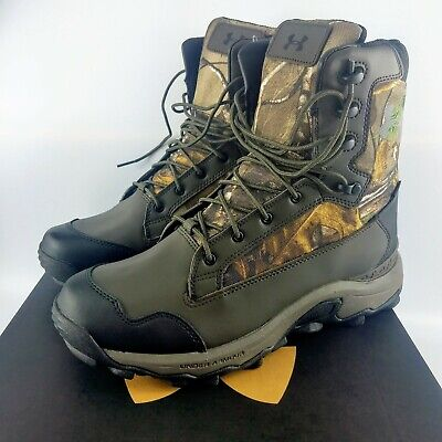 Under Armour Tanger WP Realtree Hunting Boots - Camo - 1300922-946 - Size: 8.5