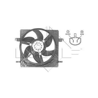 Genuine NRF Engine Cooling Radiator Fan - 47037