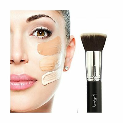 Best Foundation Brush Flat Top Kabuki Synthetic Face Brush Applicator