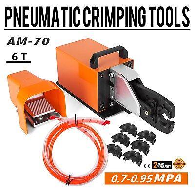 Am-70 Pneumatic Crimper Air Powered Wire Terminal Crimping Machine