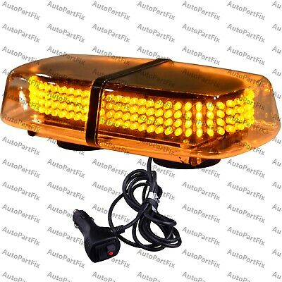 240 LED Magnetic Amber Yellow Emergency Truck Strobe Flash Light Warning Roof ()
