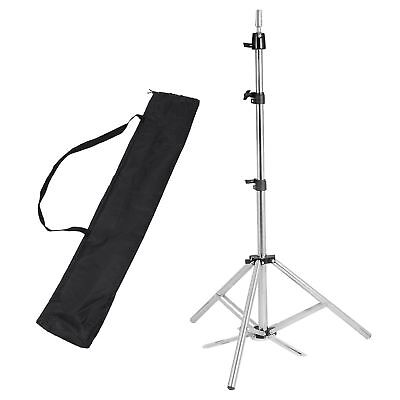 Hair Salon Adjustable Tripod Stand Cosmetology Mannequin Training Head Holder for sale  Atlanta