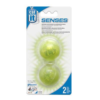 Catit Design Senses Motion Activated Illuminated Balls - Pack of 2