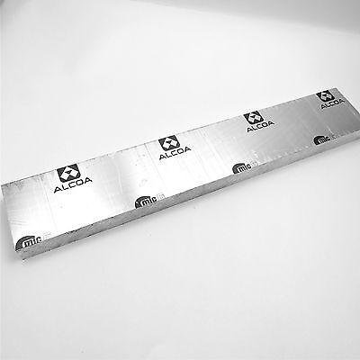 1.5 Thick Cast Aluminum Mic-6 Alcoa Flat Plate 4.75 X 28.25 Long Sku136939
