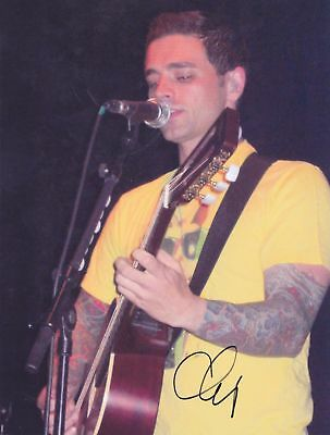 Chris Carrabba Signed 8X10 Photo Dashboard Confessional