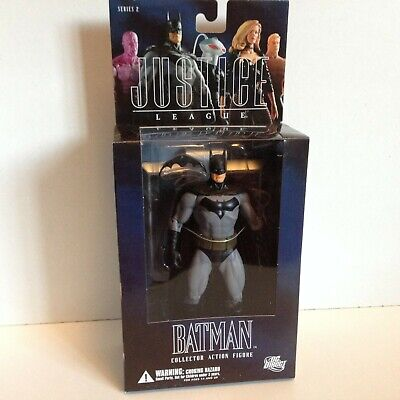 BATMAN ALEX ROSS JUSTICE LEAGUE ACTION FIGURE DC DIRECT SERIES 2 2005