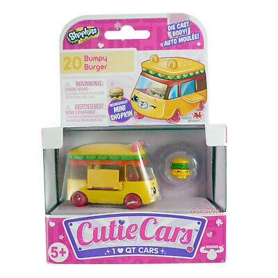 Shopkins Cutie Cars Bumpy Burger 20 Series 1